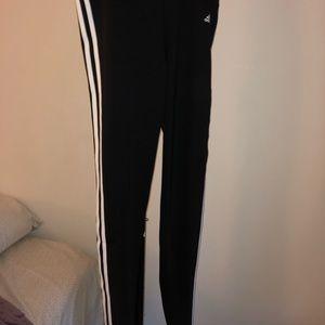 Black adidas leggings size:L